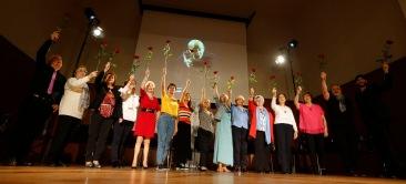 21/06/19 OVIEDO.PRESENTACION DE LA OBRA ENTRE VERSOS Y MARSILLACH EN LA ESCUELA DE MINAS.FOTO:PABLO LORENZANA..................